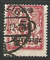 DANTZIG - YVERT N� 171 OBL TTB