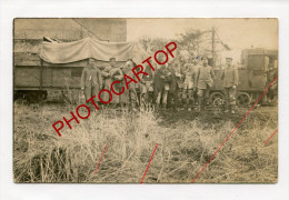 FELDBAHN-Non Situee-Transport De Blesses-Train-Locomotive-CARTE PHOTO Allemande-GUERRE 14-18-1 WK-FRANCE- - Non Classés