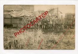 FELDBAHN-Non Situee-Transport De Blesses-Train-Locomotive-CARTE PHOTO Allemande-GUERRE 14-18-1 WK-FRANCE- - Railway