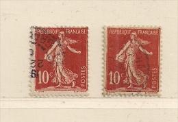 FRANCE ( F00 - 54 )  1906  N° YVERT ET TELLIER  N° 134 - France