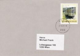 1307u: Personalisierte Marke Aus Österreich: Straßenbahn, Gest. 27.4.05 Postamt 1108 Wien - Österreich