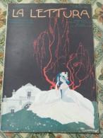 LA LETTURA 1923 COPERTINA BRUNELLESCHI GIOVANNI PRATI DASINDO COMANO TERME BRESSANONE MONTEMIGNAIO GIRGENTI SAN CALOGERO - Other