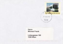1307v: Personalisierte Marke Aus Österreich: Straßenbahn, Gest. 27.4.05 Postamt 1108 Wien - Sellos Privados