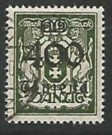 DANTZIG - YVERT N� 144 OBL TTB