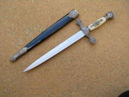 Dague Franc-Maçon Ou Templier Reproduction - Organizations