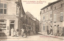 55 - PLESSIS BELLEVILLE,  RUE PRINCIPALE (ECRITE) - Ligny En Barrois