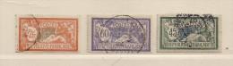 FRANCE ( F00 - 59 )  1907  N° YVERT ET TELLIER  N°  143/145 - France