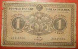 ★ RUSSIAN 2 HEAD MONSTER ★ RUSSIA FINLAND 1 MARKKA 1916! LOW START ★ NO RESERVE! - Finland