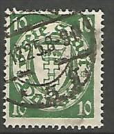 DANTZIG - YVERT N� 178 OBL TTB