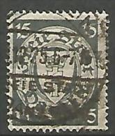 DANTZIG - YVERT N� 179 OBL TTB