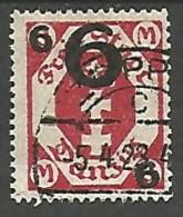 DANTZIG - YVERT N� 136 OBL TTB