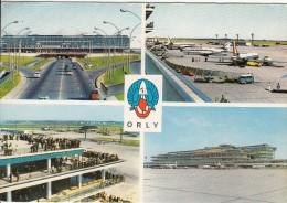 AEROPORT DE PARIS-ORLY - 4 Vues - Aerodrome