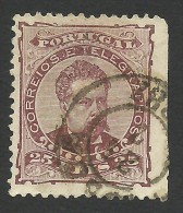 Portugal, 25 R. 1882, Sc # 60c, Mi # 56B, MH - Used Stamps