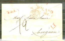 Italia. Prefilatelai. Carta De Mián A Avignon Con Fecha 1842 - Italia