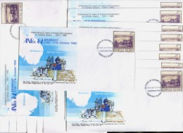 Norfolk Island - ANPEX 82 Brisbane - Postal Stationary Cover FDC - Dealer Lot Of 21 Pieces - Isola Norfolk