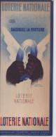 Marque Page LOTERIE NATIONALE Couvre Livre  CLARITAL SGDG - Papeteries Louis Muller - Lesezeichen