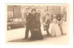 Carte Photo De Bints à Philippeville  , ?  Florennes ? Mariage,  Voir Café Coiffeur Burniat - Florennes