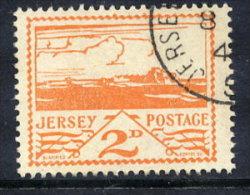 JERSEY 1943 Landscapes 2d Used.  Michel 6 - Besetzungen 1938-45