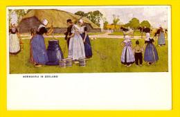 BOERDERIJ IN ZEELAND Ca1906 W DE HAAN UTRECHT ILLUSTRATEUR ILLUSTRATOR ? CASSIERS H? Ilustrador Illustratore PAYSAN 3926 - Boerderijen