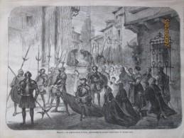 1873   ESPAGNE  TOLEDE TOLEDO   La Semaine Sainte  Procession Des Los Armados  Le Vendredi Saint - Ohne Zuordnung