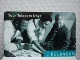 Sratch & Phone Belgacom (Mint,Neuve) 2 Scans Very Rare - [2] Prepaid & Refill Cards