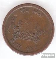 Gwalior KM-Nr. : 170 1970 Sehr Schön Kupfer Sehr Schön 1970 1/4 Anna Madho Rao - Indien