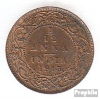 Indien KM-Nr. : 509 1924 Stgl./unzirkuliert Bronze Stgl./unzirkuliert 1924 1/12 Anna George V. - Indien