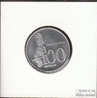 Indonesien KM-Nr. : 61 1999 Stgl./unzirkuliert Aluminium Stgl./unzirkuliert 1999 100 Rupien Palmkakadu