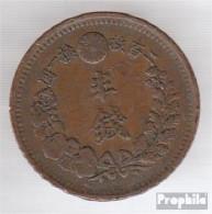 Japan 16 8 Sehr Schön Kupfer Sehr Schön 8 1/2 Sen Mutsuhito - Japan