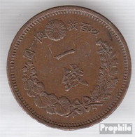 Japan 17 14 Sehr Schön Kupfer Sehr Schön 14 1 Sen Mutsuhito - Japan