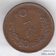Japan 17 19 Sehr Schön Kupfer Sehr Schön 19 1 Sen Mutsuhito - Japan