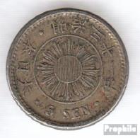 Japan 21 31 Sehr Schön Kupfer-Nickel Sehr Schön 31 5 Sen Mutsuhito - Japan