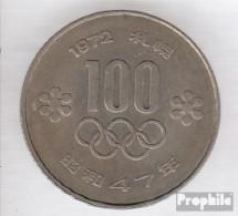 Japan 84 47 Vorzüglich Kupfer-Nickel Vorzüglich 47 100 Yen Sapporo - Japan