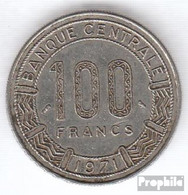 Kamerun KM-Nr. : 15 1972 Sehr Schön Nickel Sehr Schön 1972 100 Francs Antilopen - Cameroon
