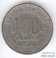 Kamerun KM-Nr. : 16 1972 Sehr Schön Nickel Sehr Schön 1972 100 Francs Antilopen - Kamerun