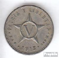 Kuba KM-Nr. : 11 1946 Sehr Schön Kupfer-Nickel Sehr Schön 1946 5 Centavos Wappen - Cuba