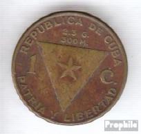 Kuba KM-Nr. : 26 1953 Sehr Schön Messing Sehr Schön 1953 1 Centavo Marti - Cuba