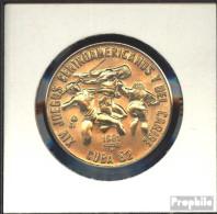 Kuba KM-Nr. : 61 1981 Stgl./unzirkuliert Kupfer-Nickel Stgl./unzirkuliert 1981 1 Peso Speerwerfen Und Laufen - Cuba