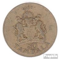 Malawi KM-Nr. : 19 1986 Sehr Schön Kupfer-Nickel-Zink Sehr Schön 1986 50 Tambala Wappen - Malawi