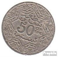 Marokko KM-Nr. : 35 1921 Sehr Schön Nickel Sehr Schön 1921 50 Centimes Stern - Maroc
