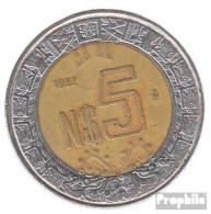Mexiko KM-Nr. : 552 1992 Sehr Schön Bimetall Sehr Schön 1992 5 Pesos Adler - Mexiko