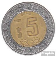 Mexiko KM-Nr. : 605 2006 Vorzüglich Bimetall Vorzüglich 2006 5 Pesos Adler - Mexiko