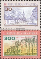 Kroatien 198-199 (kompl.Ausg.) Postfrisch 1992 Freimarken - Croatie
