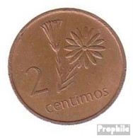 Mosambik KM-Nr. : 91 1975 Vorzüglich Messing Vorzüglich 1975 2 Centimos Machel - Mozambique