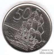 Neuseeland KM-Nr. : 119 2006 Stgl./unzirkuliert Kupfer-Nickel Stgl./unzirkuliert 2006 50 Cents Elizabeth II. - Neuseeland