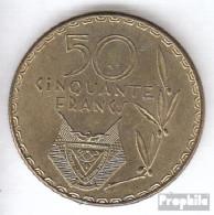 Ruanda 16 1977 Sehr Schön Messing Sehr Schön 1977 50 Francs Kaffeebaum - Rwanda