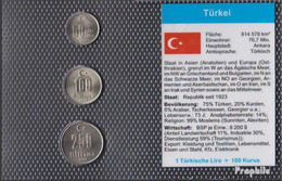 Türkei 2004 Stgl./unzirkuliert Kursmünzen Stgl./unzirkuliert 2004 50.000 Bis 250.000 Lira - Türkei