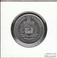 Venezuela KM-Nr. : 43 1990 Vorzüglich Stahl, Nickel Plattiert Vorzüglich 1990 2 Bolivares Wappen - Venezuela