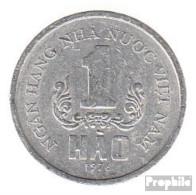 Vietnam KM-Nr. : 11 1976 Vorzüglich Aluminium Vorzüglich 1976 1 Hao Wappen - Vietnam
