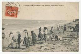14 - Luc-sur-Mer           Les Enfants Jouent Dans Le Sable - Luc Sur Mer